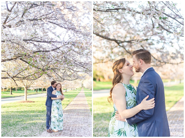 Richmond Wedding Photographer Richmond Cherry Blossom Engagement Photo_0005.jpg