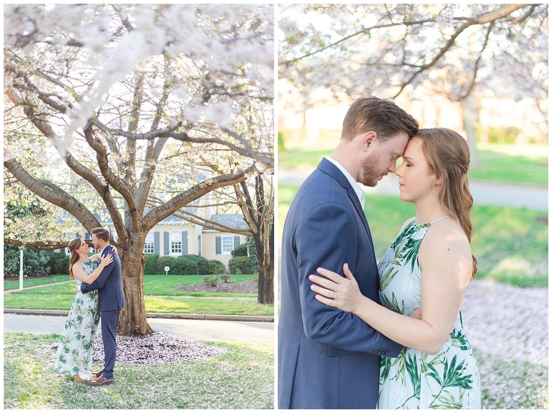 Richmond Wedding Photographer Richmond Cherry Blossom Engagement Photo_0006.jpg