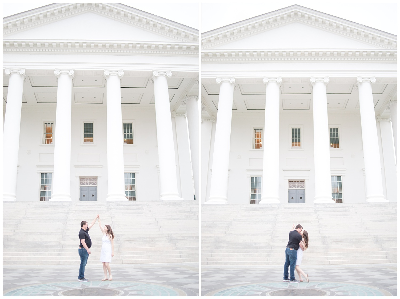 Richmond Wedding Photographer Virginia State Capitol Engagement Photo_0007.jpg