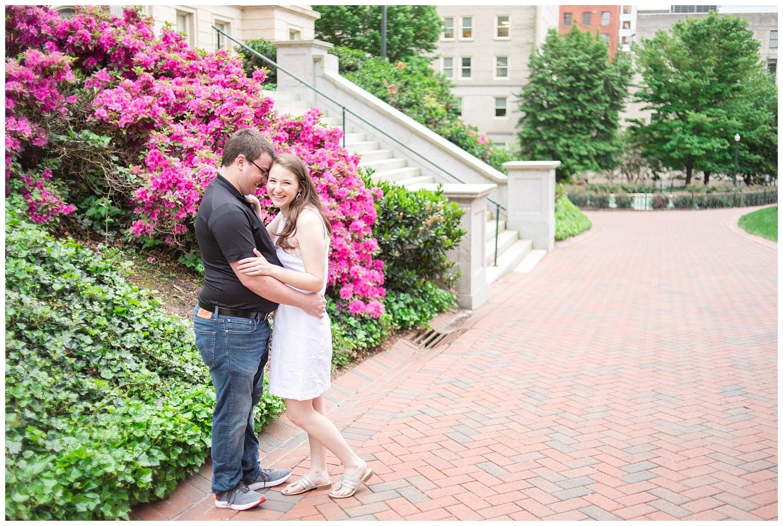 Richmond Wedding Photographer Virginia State Capitol Engagement Photo_0012.jpg