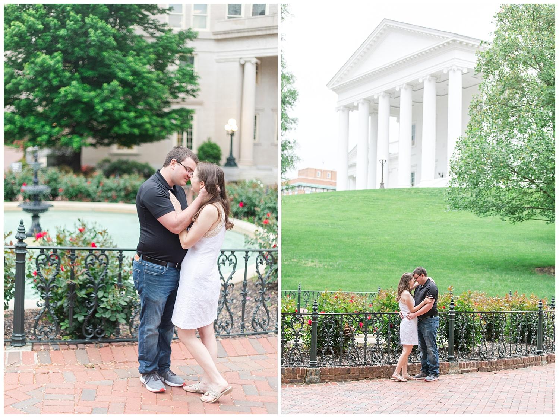 Richmond Wedding Photographer Virginia State Capitol Engagement Photo_0014.jpg