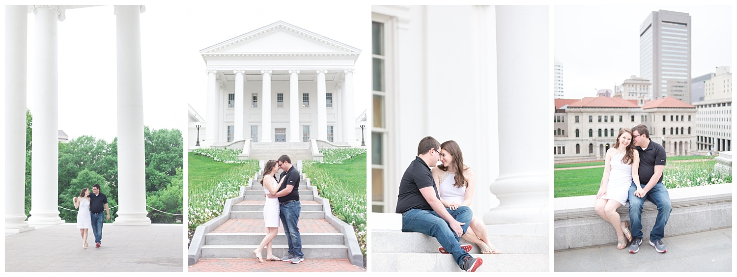 Richmond Wedding Photographer Virginia State Capitol Engagement Photo_0020.jpg