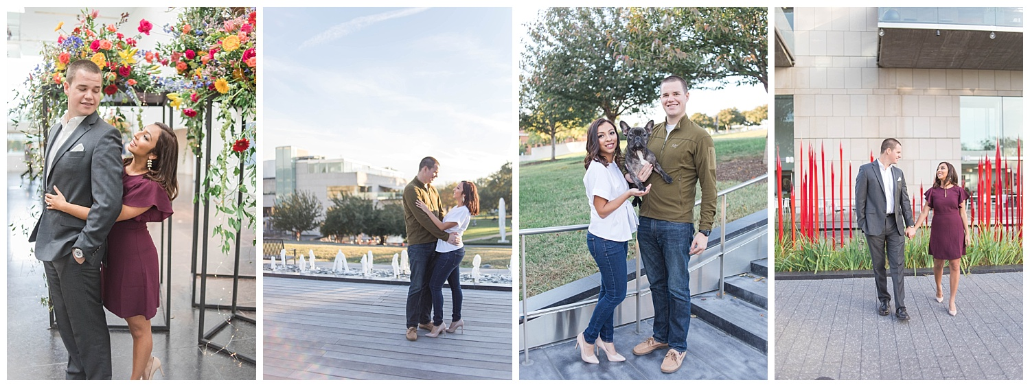 VMFA Engagement Session - Richmond Wedding Photographer