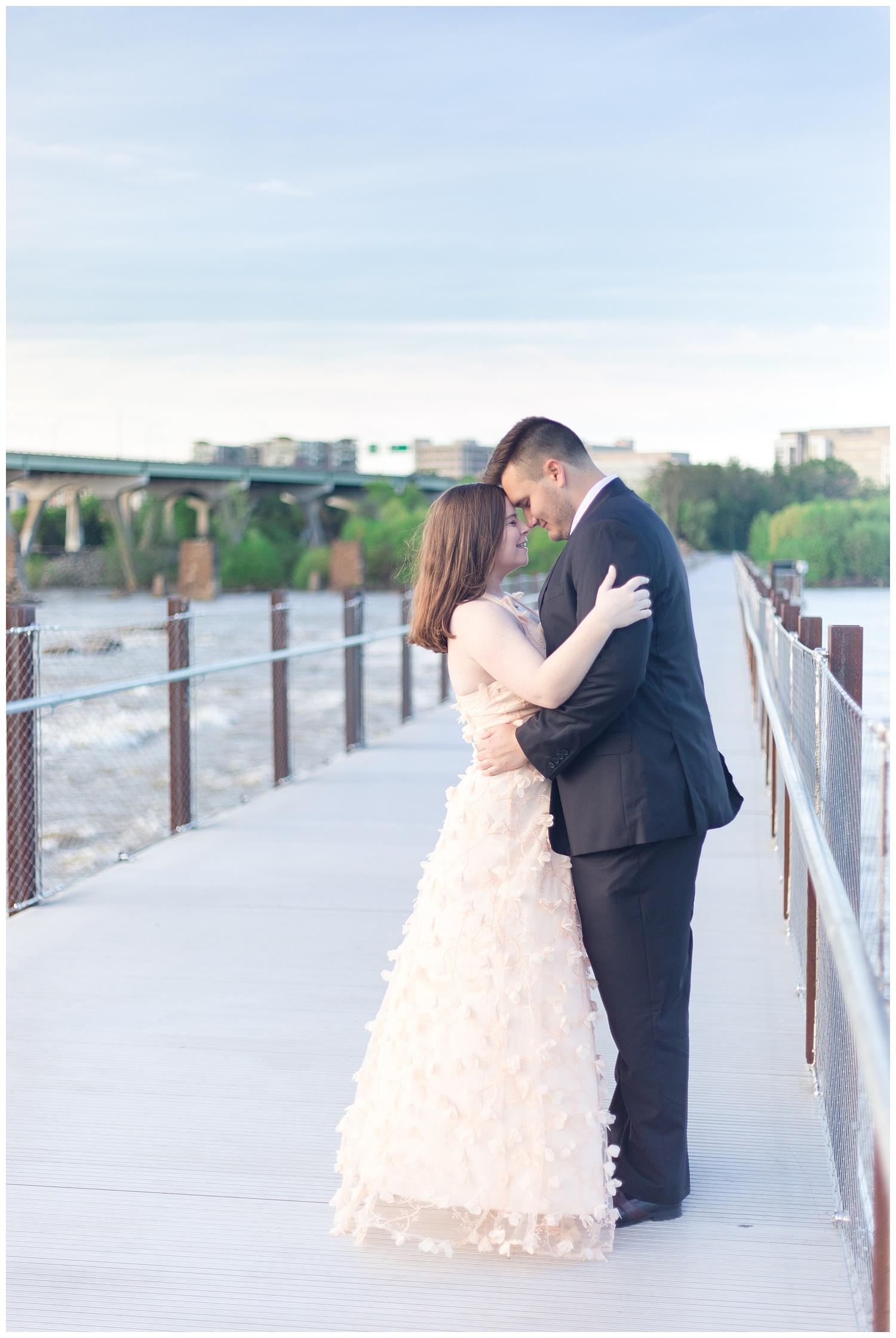 Richmond Wedding Photographer Brown's Island Canal Walk Engagement Photo_0002.jpg