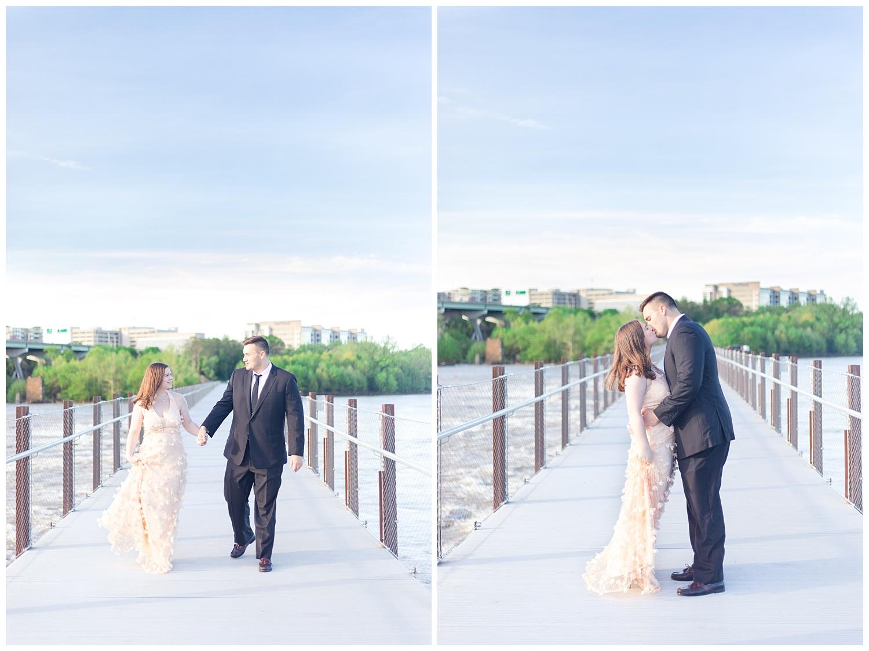 Richmond Wedding Photographer Brown's Island Canal Walk Engagement Photo_0004.jpg