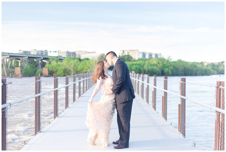 Richmond Wedding Photographer Brown's Island Canal Walk Engagement Photo_0005.jpg