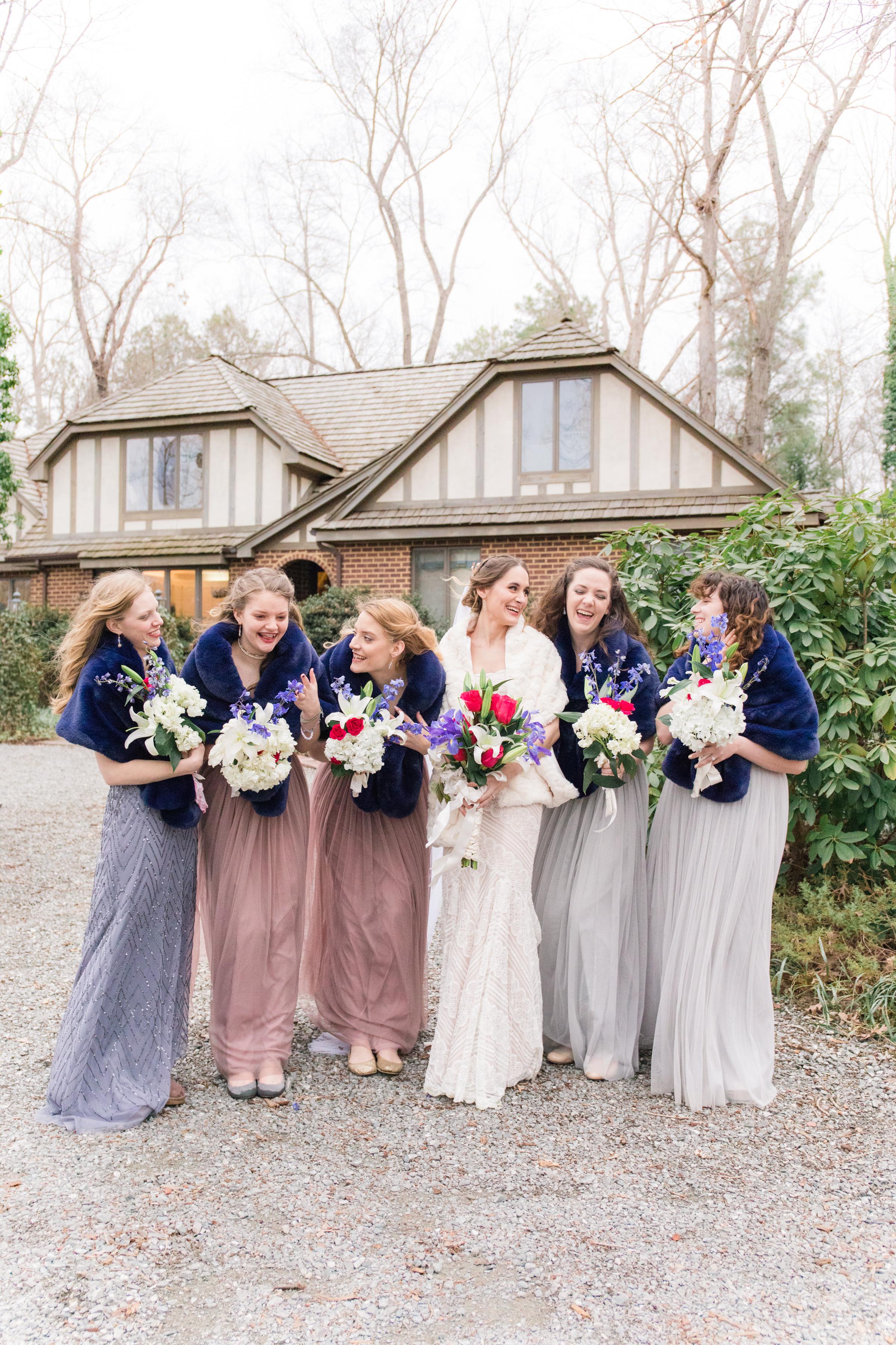 A Winter Glen Allen Estate Wedding