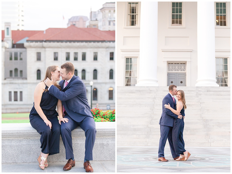 MJMP Richmond Wedding Photographer Summer Virginia State Capitol Engagement Session_0018.jpg
