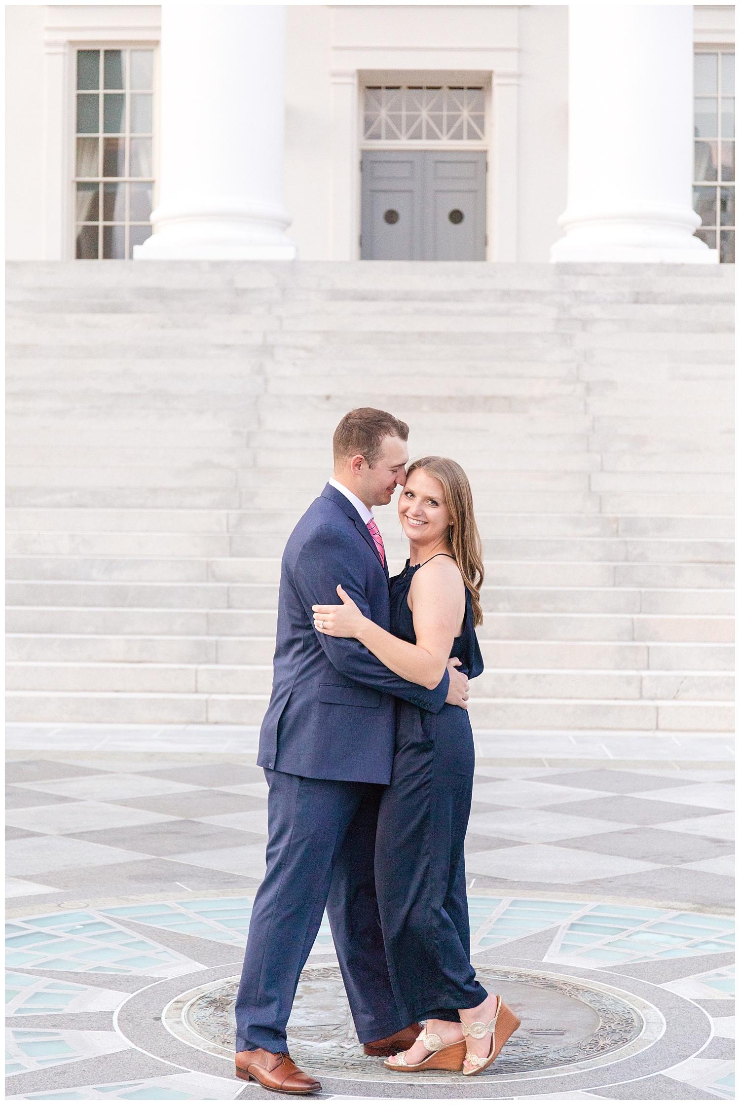 MJMP Richmond Wedding Photographer Summer Virginia State Capitol Engagement Session_0020.jpg