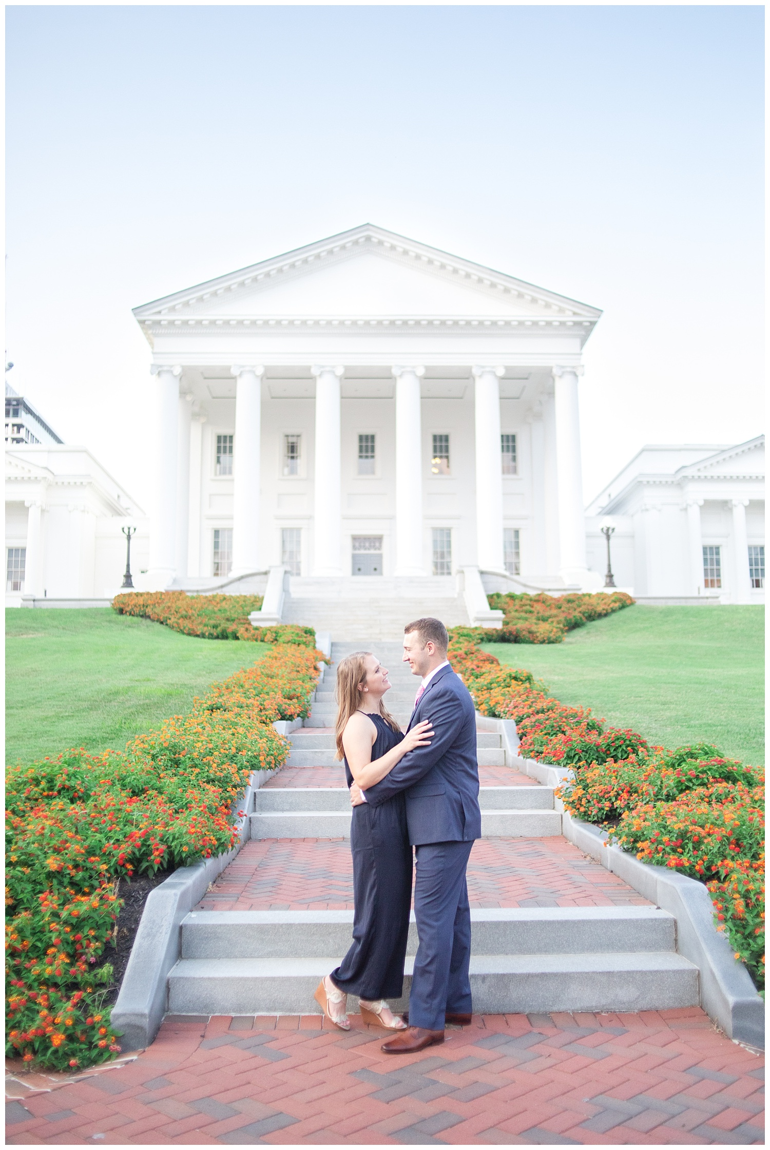 MJMP Richmond Wedding Photographer Summer Virginia State Capitol Engagement Session_0021.jpg