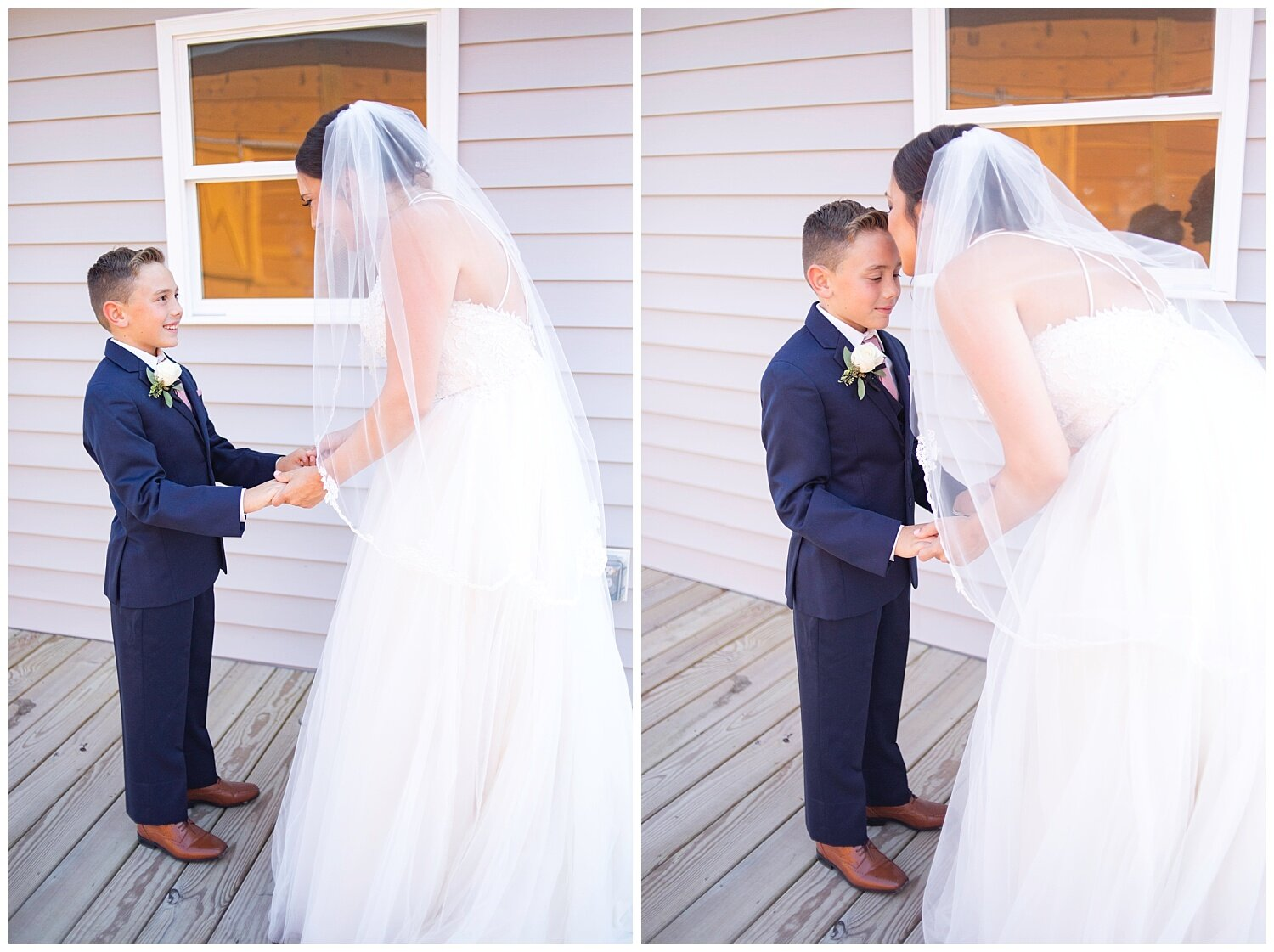 This has to be in the top 5 favorite wedding moments for me. There's nothing sweeter than the bond between a Mama and her baby boy.