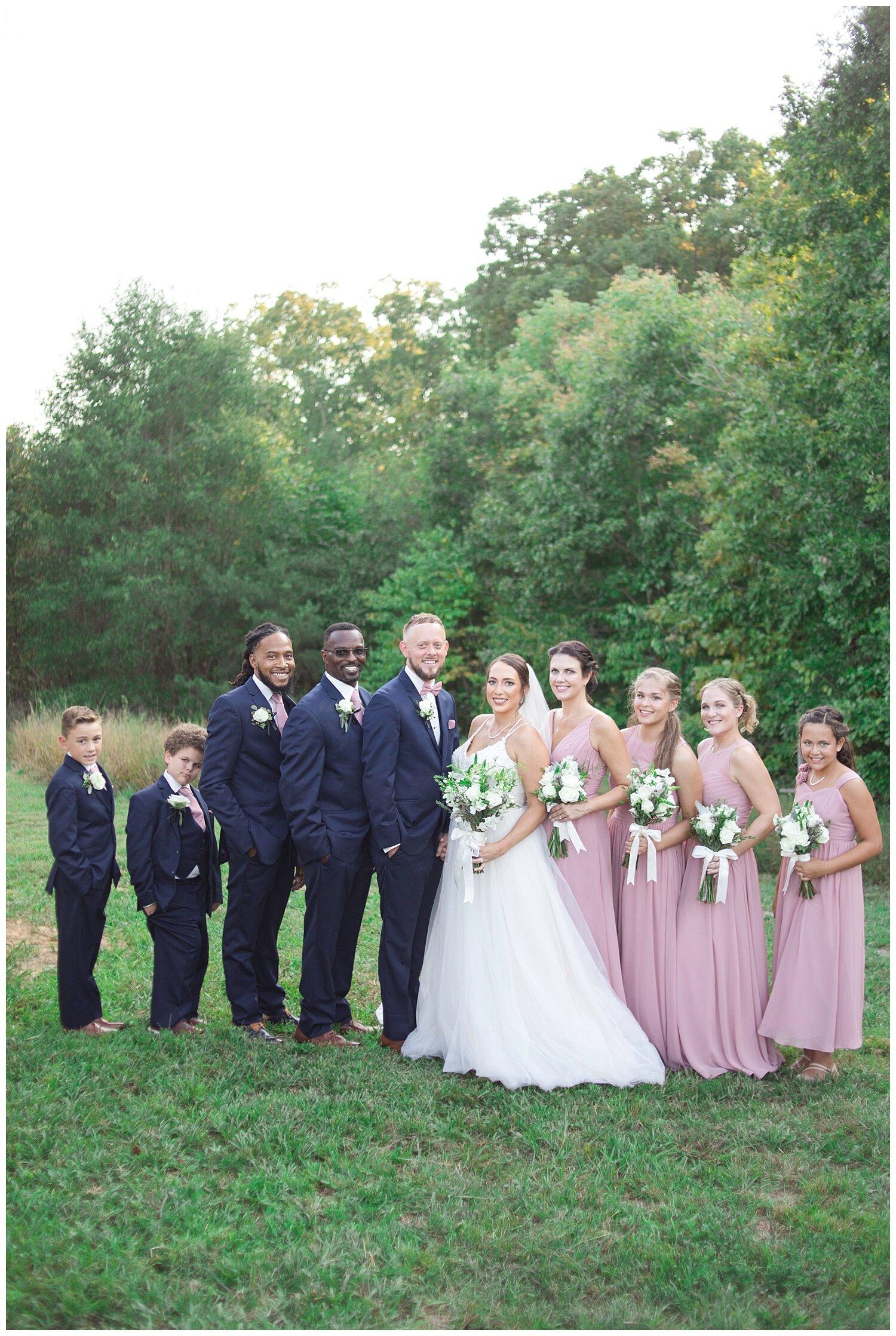Lovinggggg this bridal party!