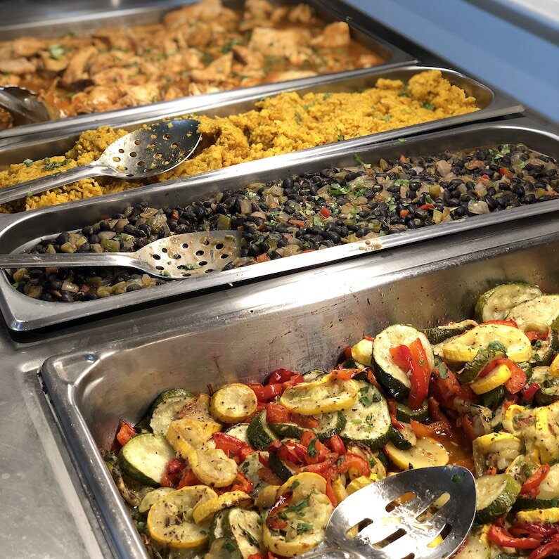 Deli Hot Bar Lunches