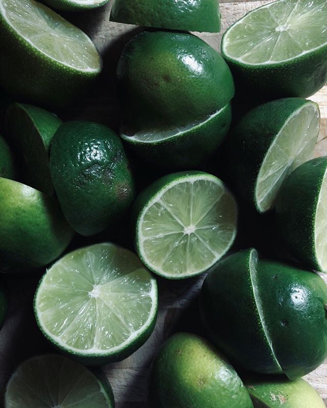 Limes for days. Thanks to @berkeleybowl