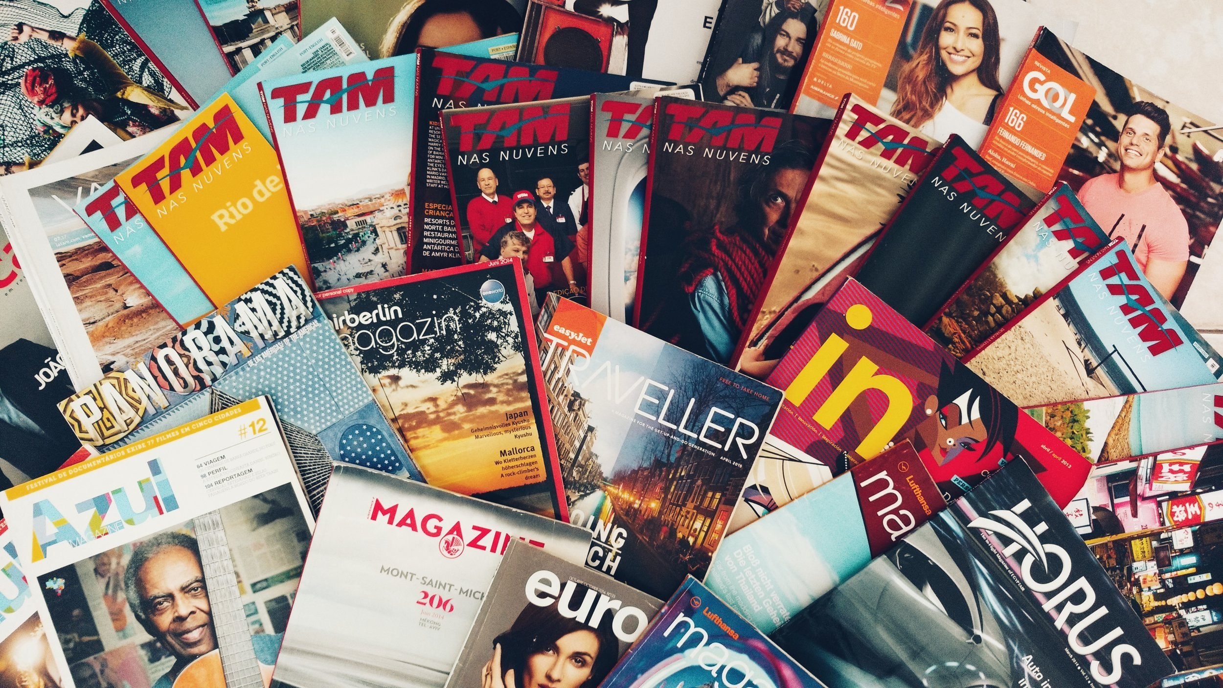 Brochure production - Professional brochure design across a range of industries.