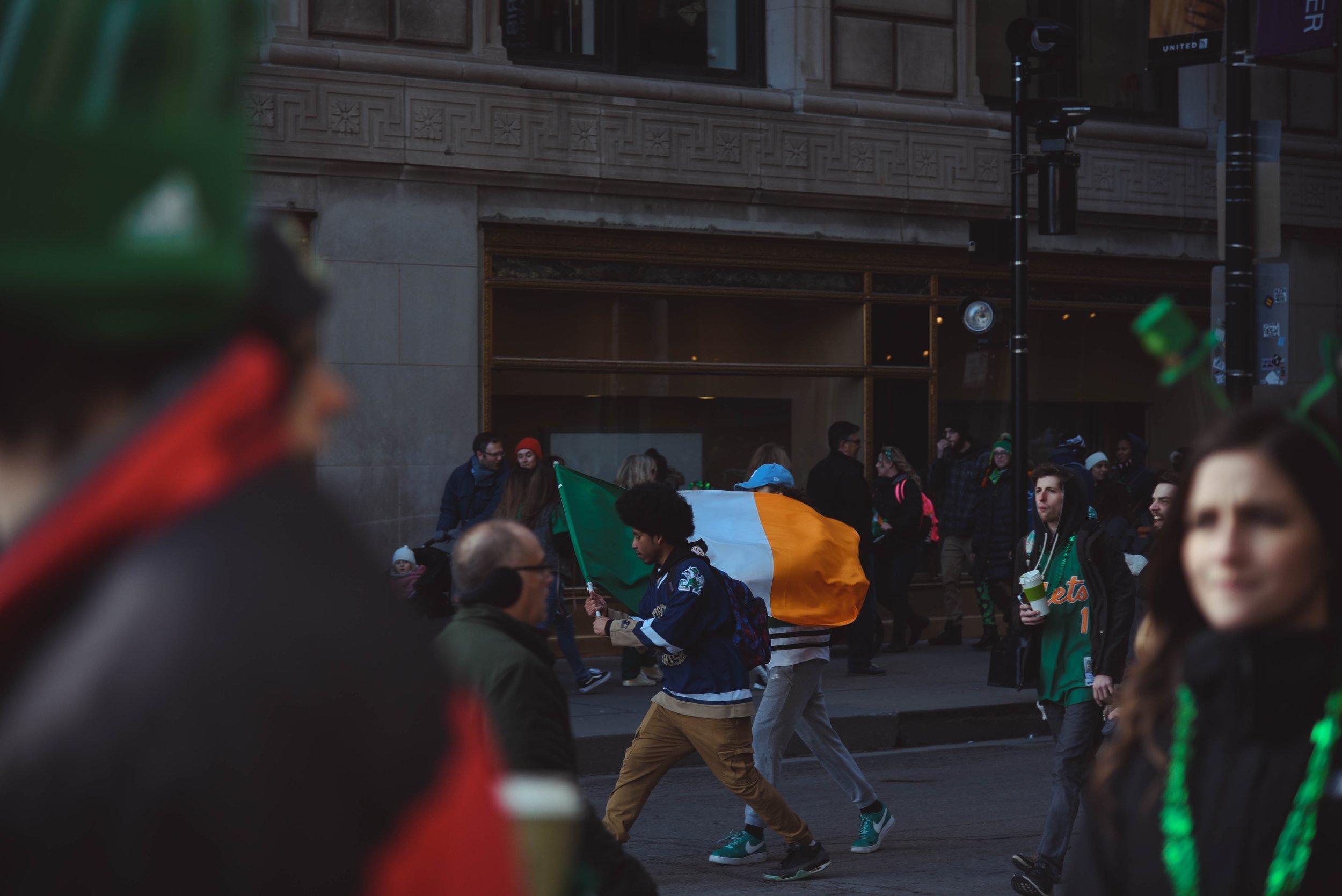 O  St. Patricks Day  é a principal festa da  Irlanda,  que celebra a chegada de São Patrício, o padroeiro do país. O evento ocorre oficialmente no dia 17 de março.