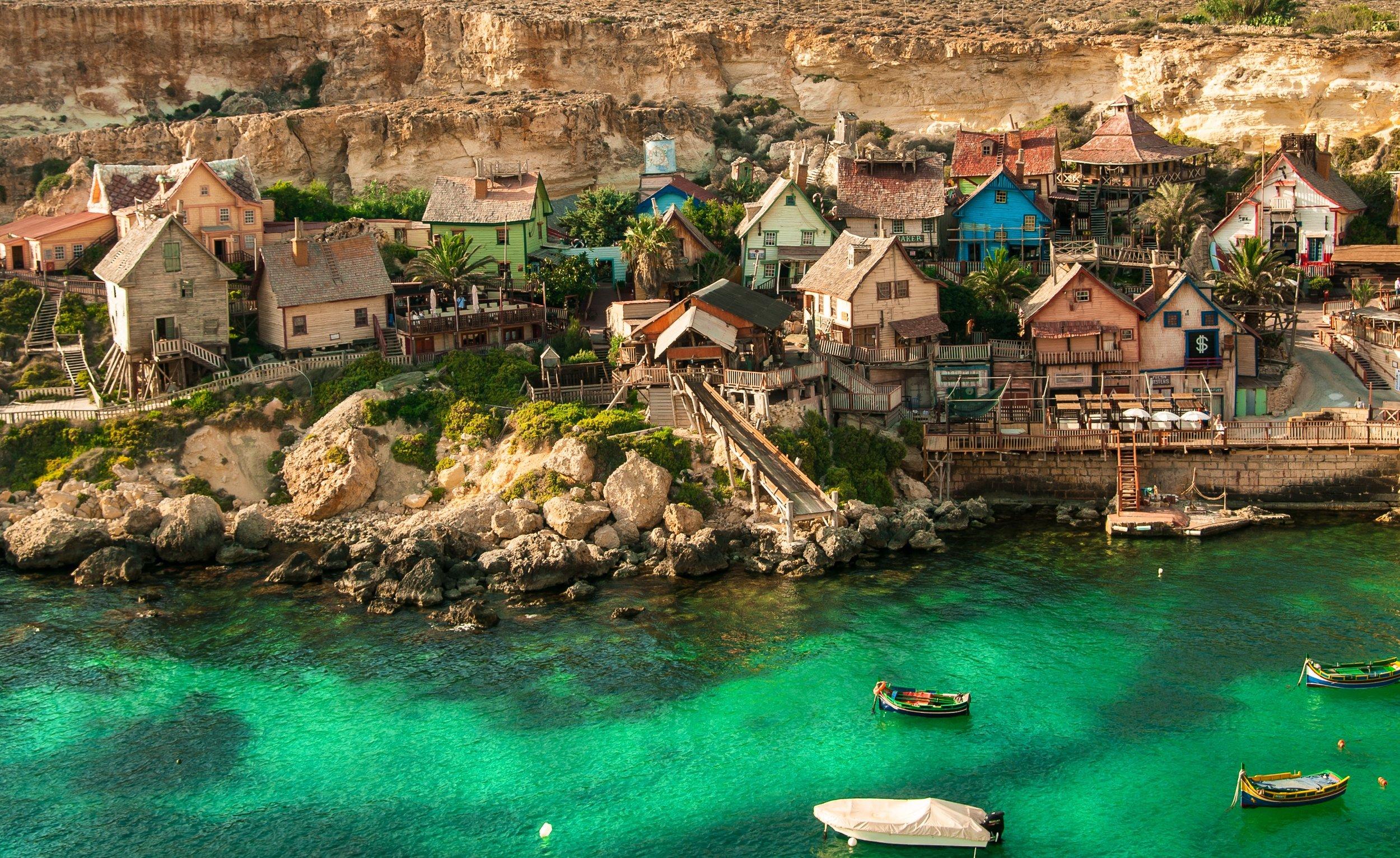 Popeye Village, Malta Foto by:  @magdaleny