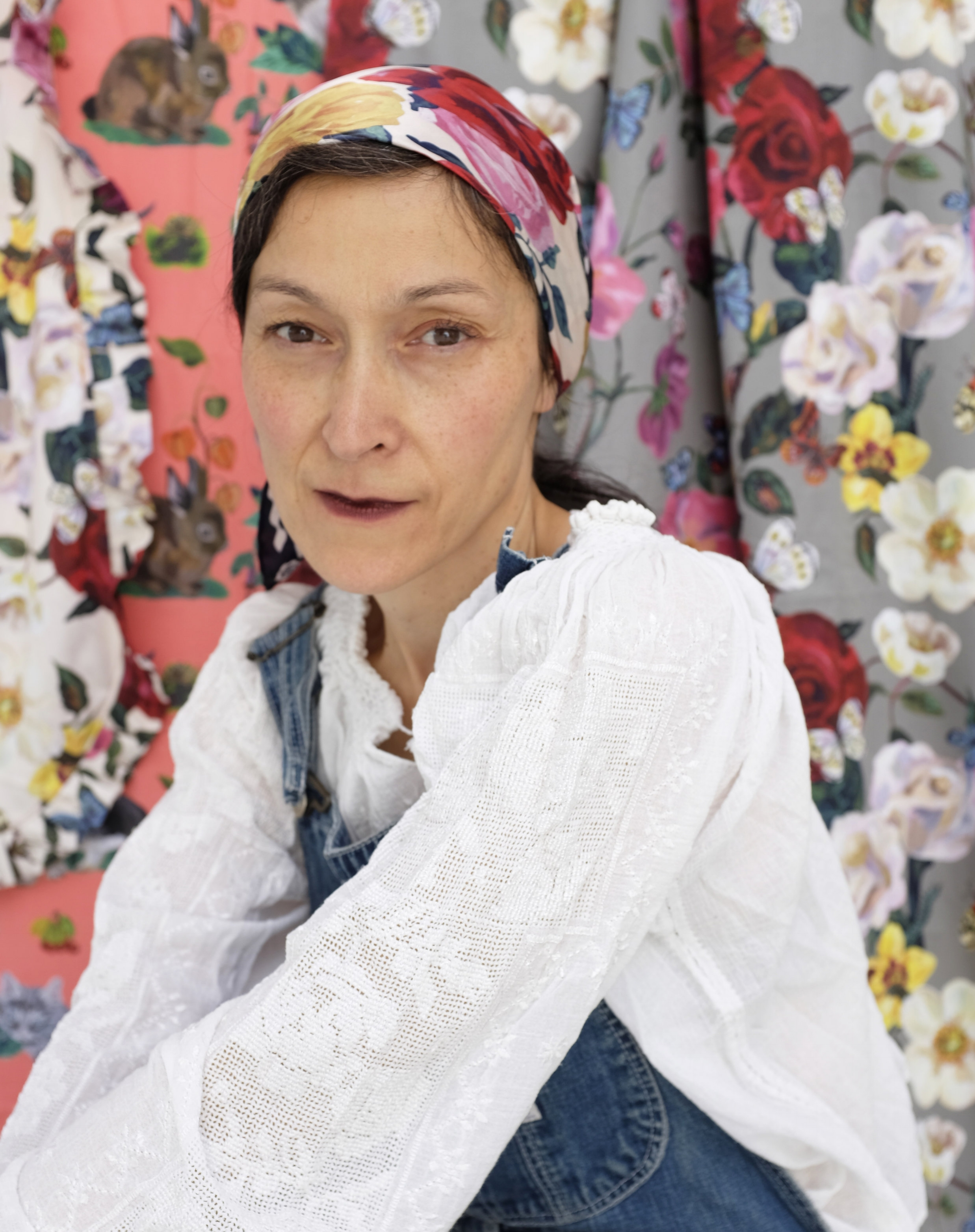 Nathalie Lete - Natalie is a prolific artist of German and Chinese descent living and making art in Paris. Nathalie's lyrical and painterly style has captivated art lovers and taste makers for years and her range includes clothing, homewares, gift, decor, and ceramic goods. Her cotton fabric collections with Conservatory are filled with wonder and delight.See more at nathalie-lete.com