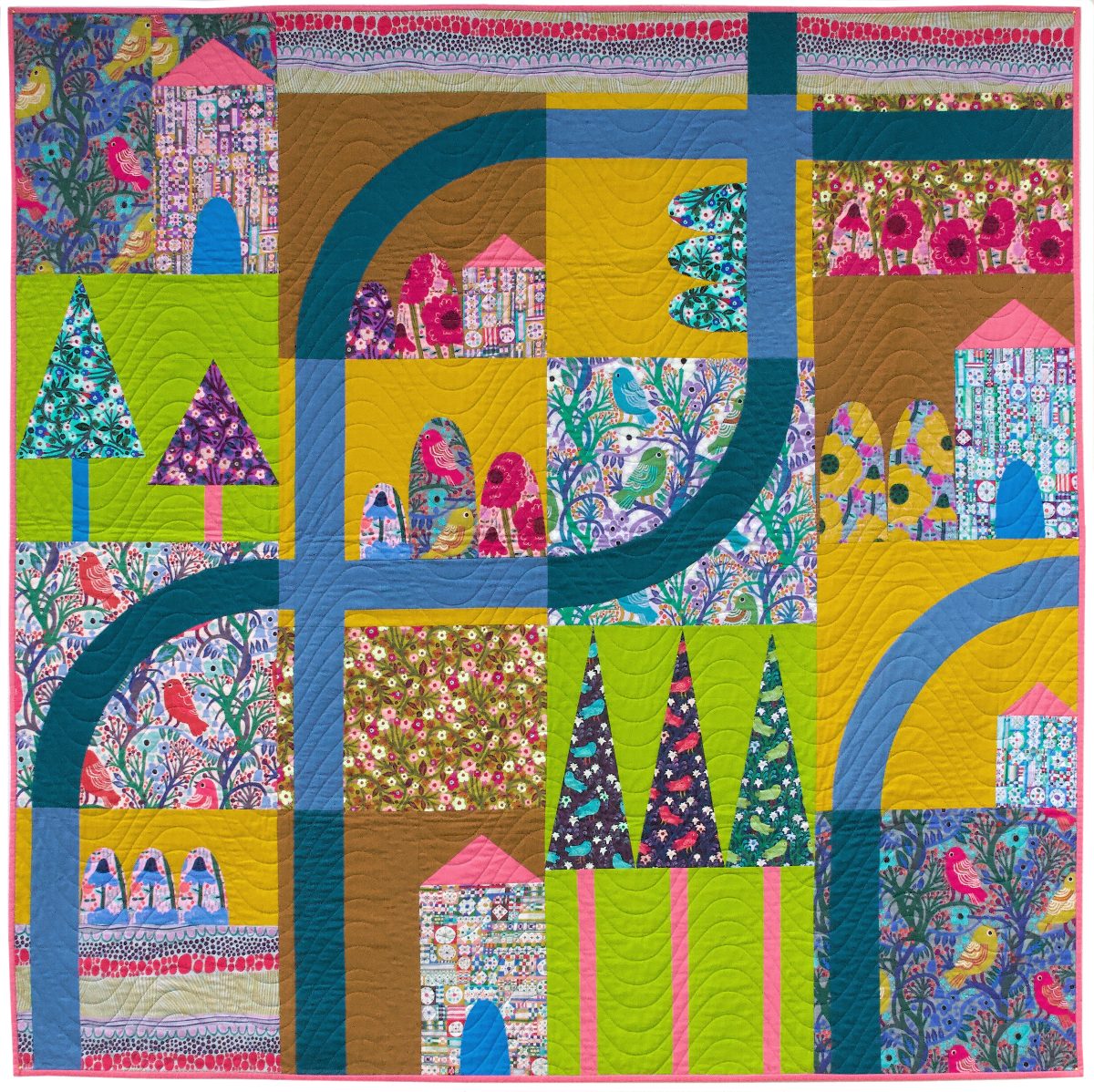 Savernake Road - Designed by Anna Maria & Pam Matthewsmade with Savernake Road Collection by  Monika Forsberg
