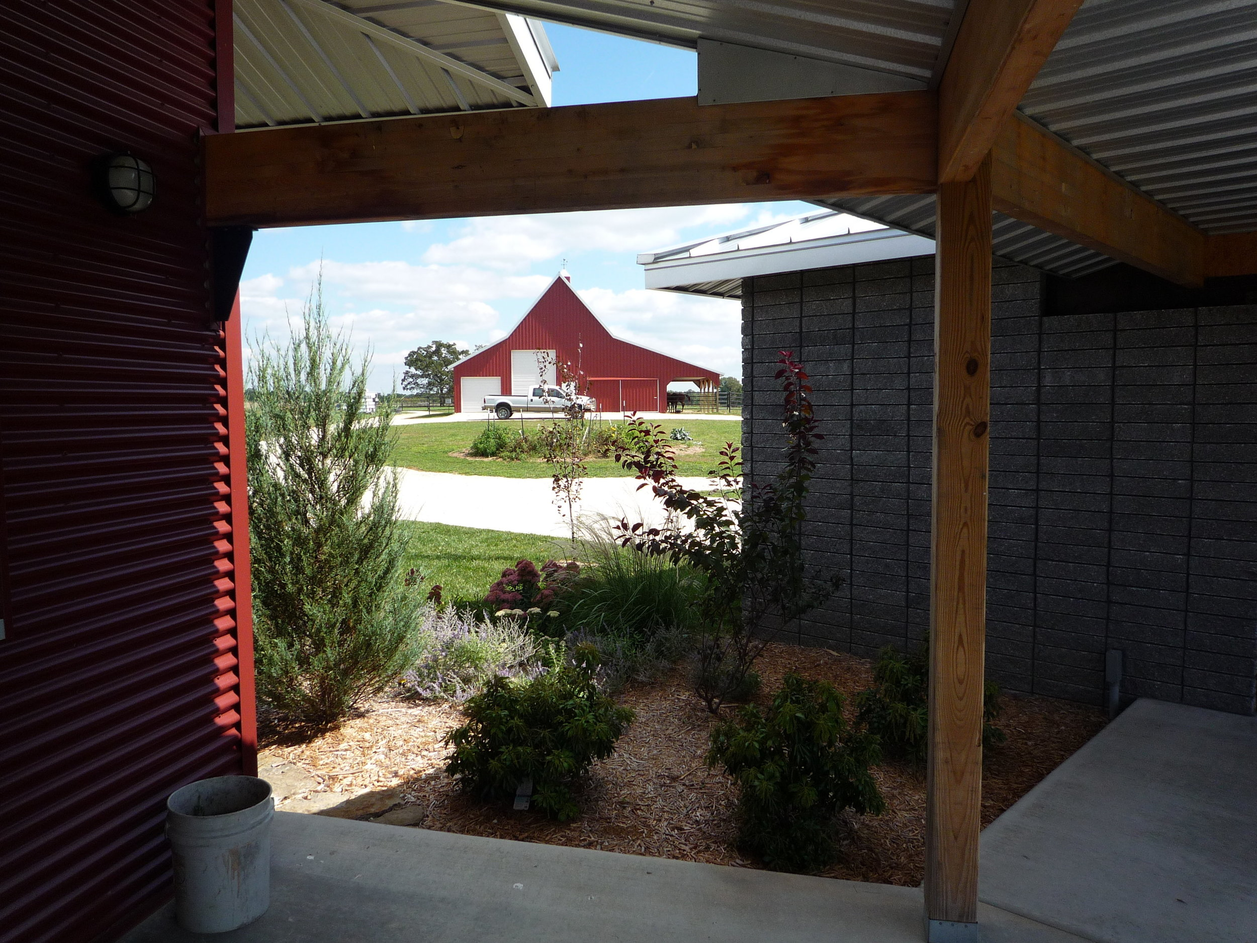 Barn from the Breezeway