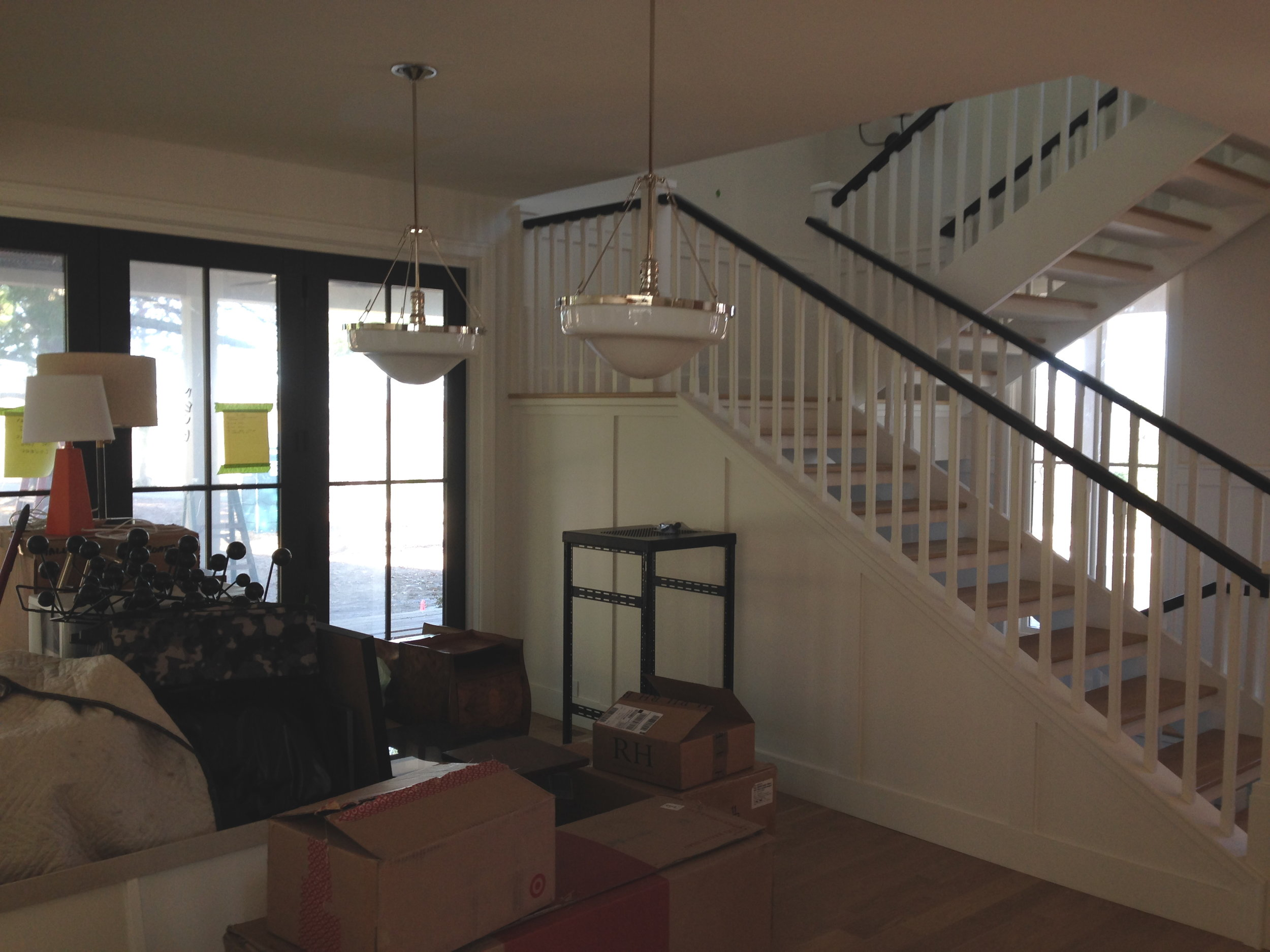 View of Dining Area and Stairs