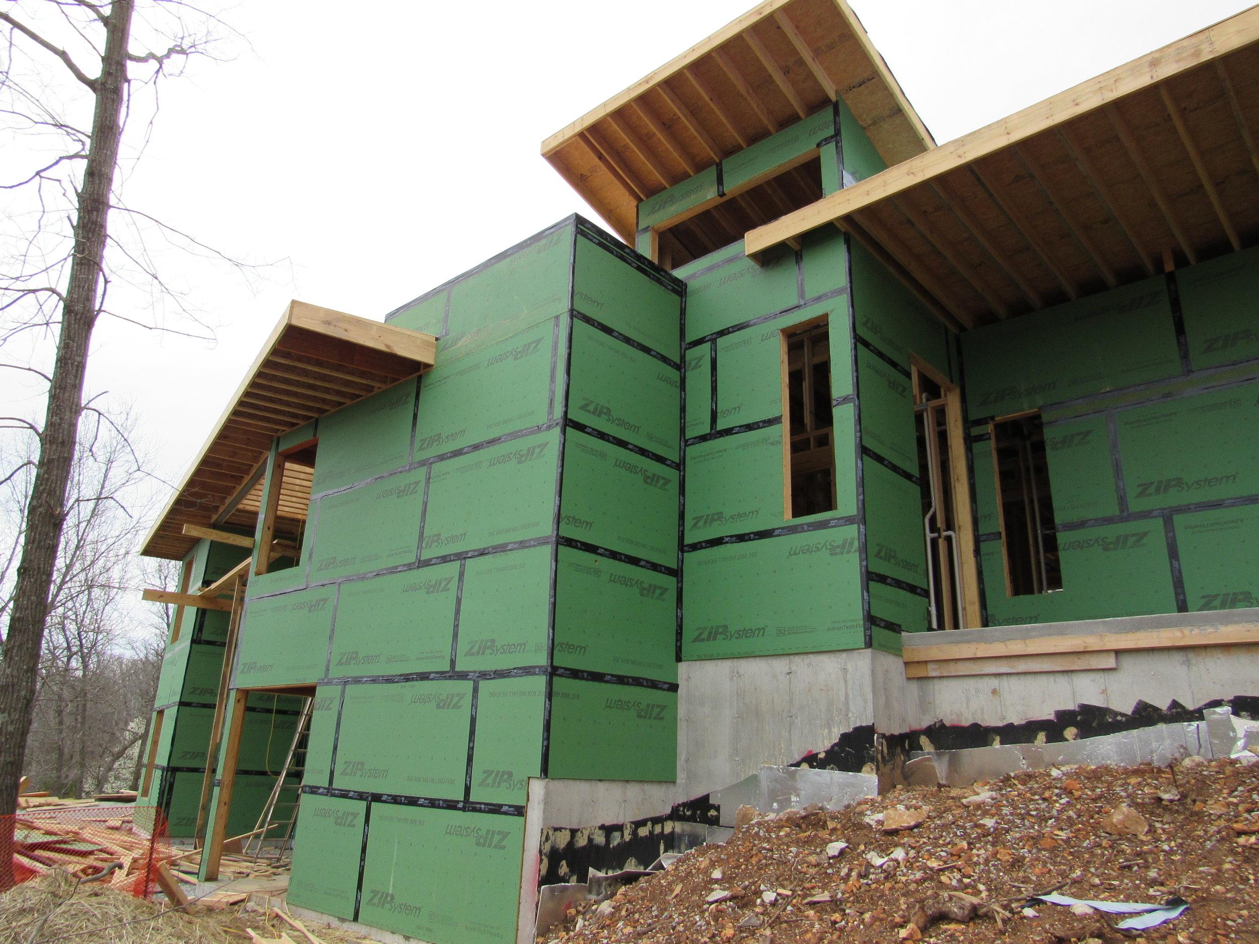 Construction photo: Southwest View
