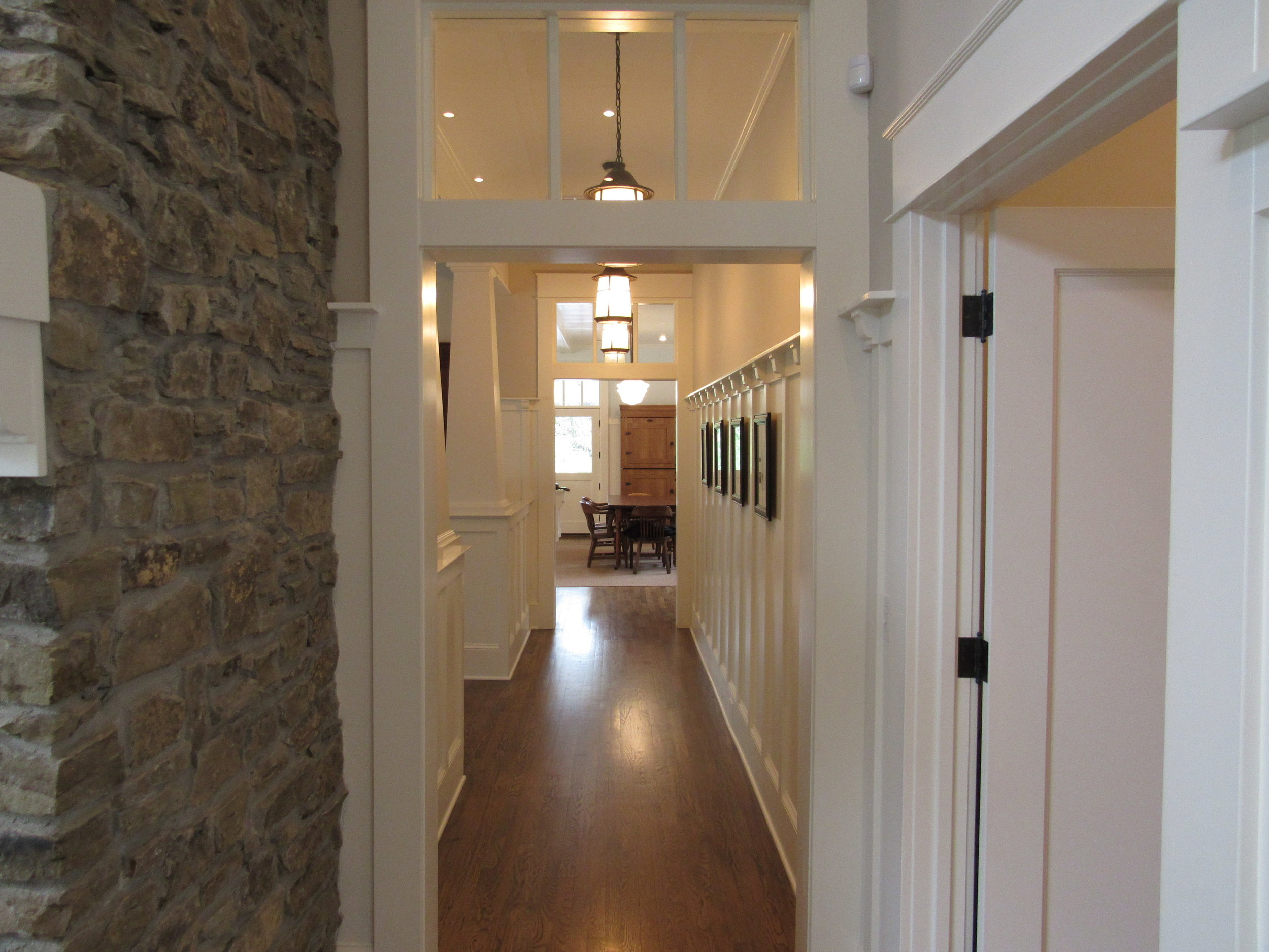 Hall from Living to Kitchen