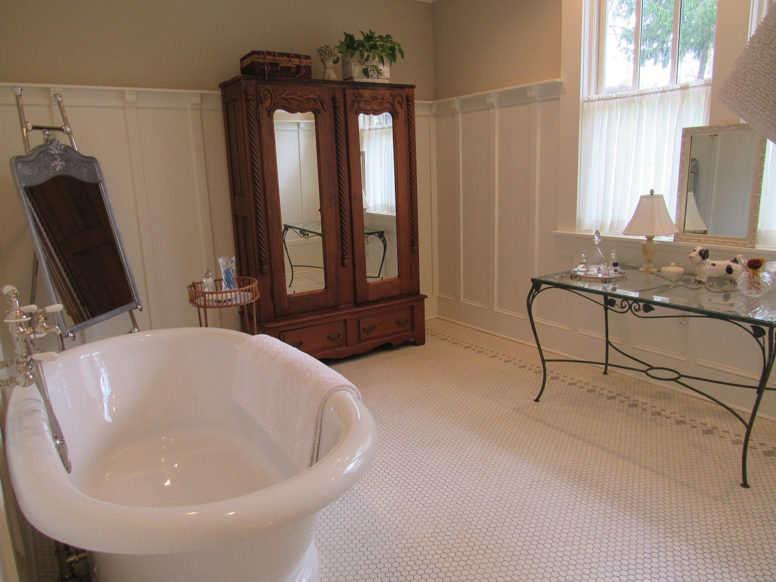 Bath Tub/Shower/Dressing Room