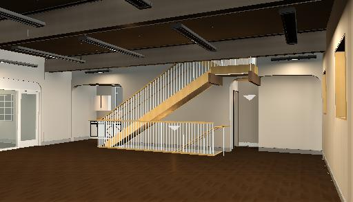 Rendering of Main Room