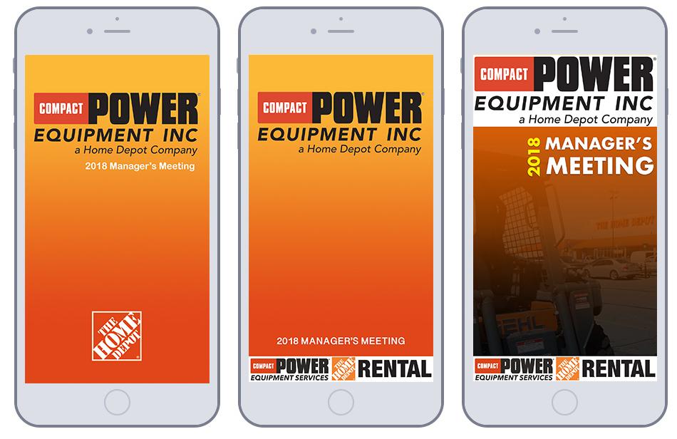 Home Depot-CPE Event App -