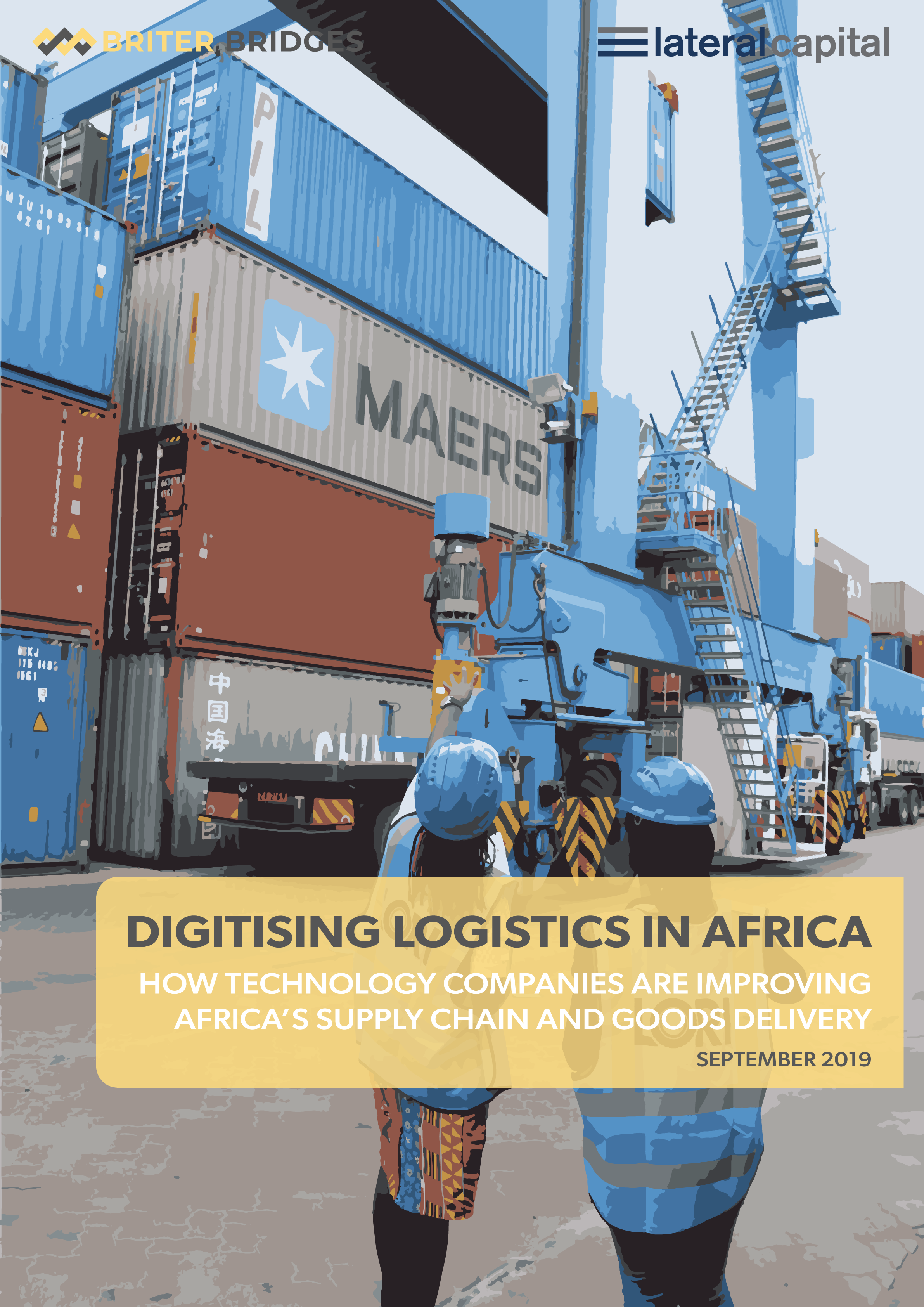 Logistics in Africa cover page