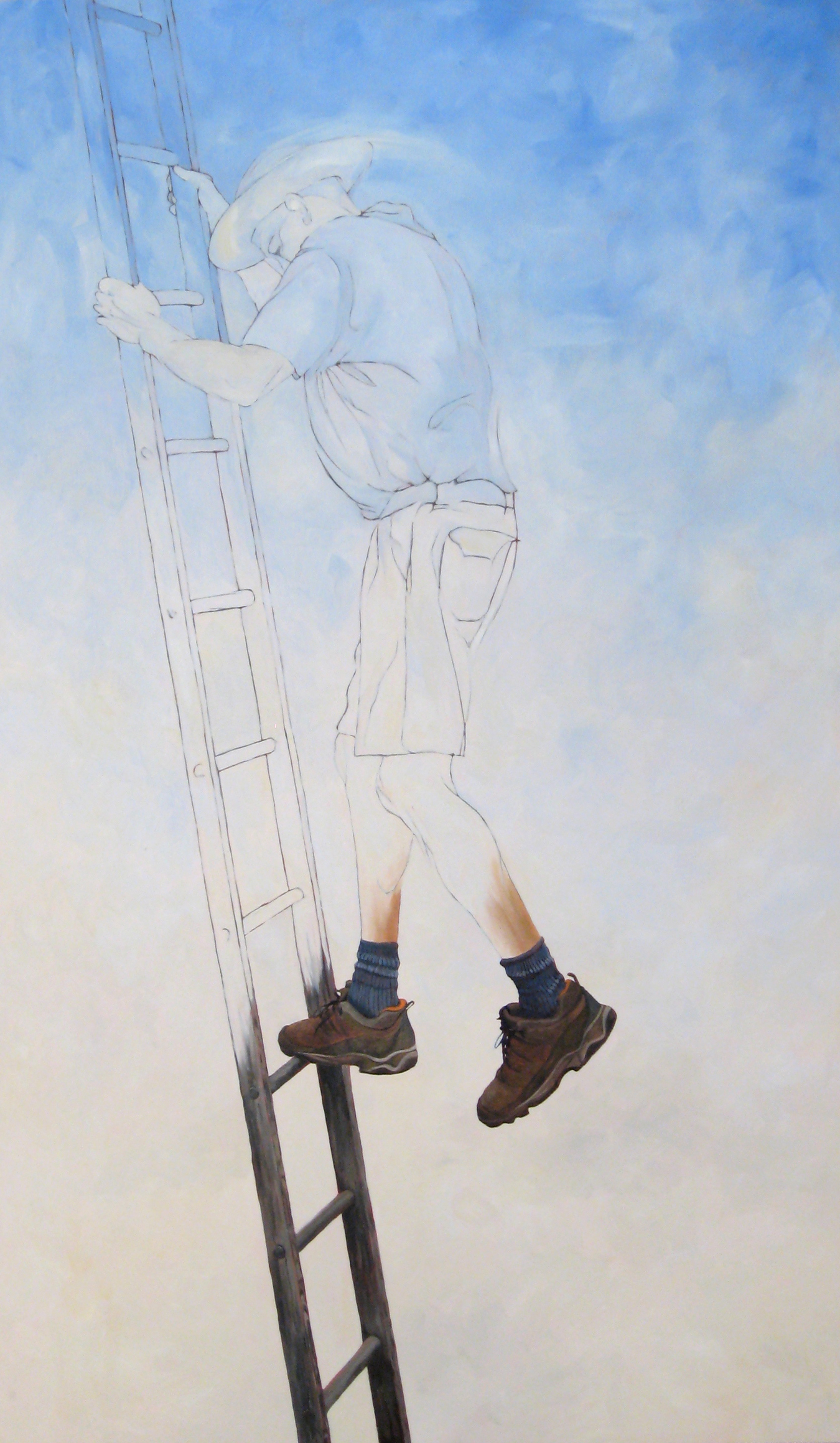 A Man and His Ladder