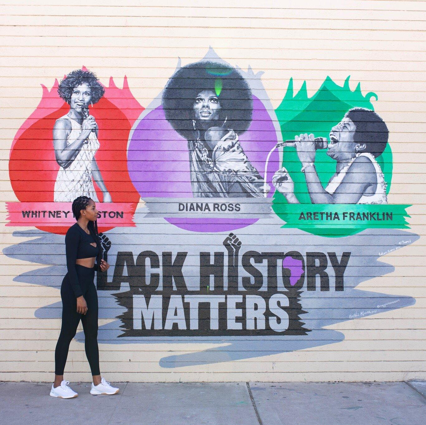 Black History Murals Phoenix