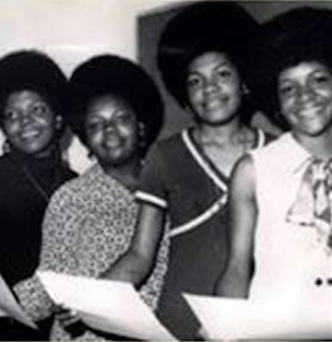 The Cole Sisters, left to right: Carol F. Cole McKendall, Brenda J. Cole, Eunice M. Cole Falls, and Pamela A. Cole Wimbley