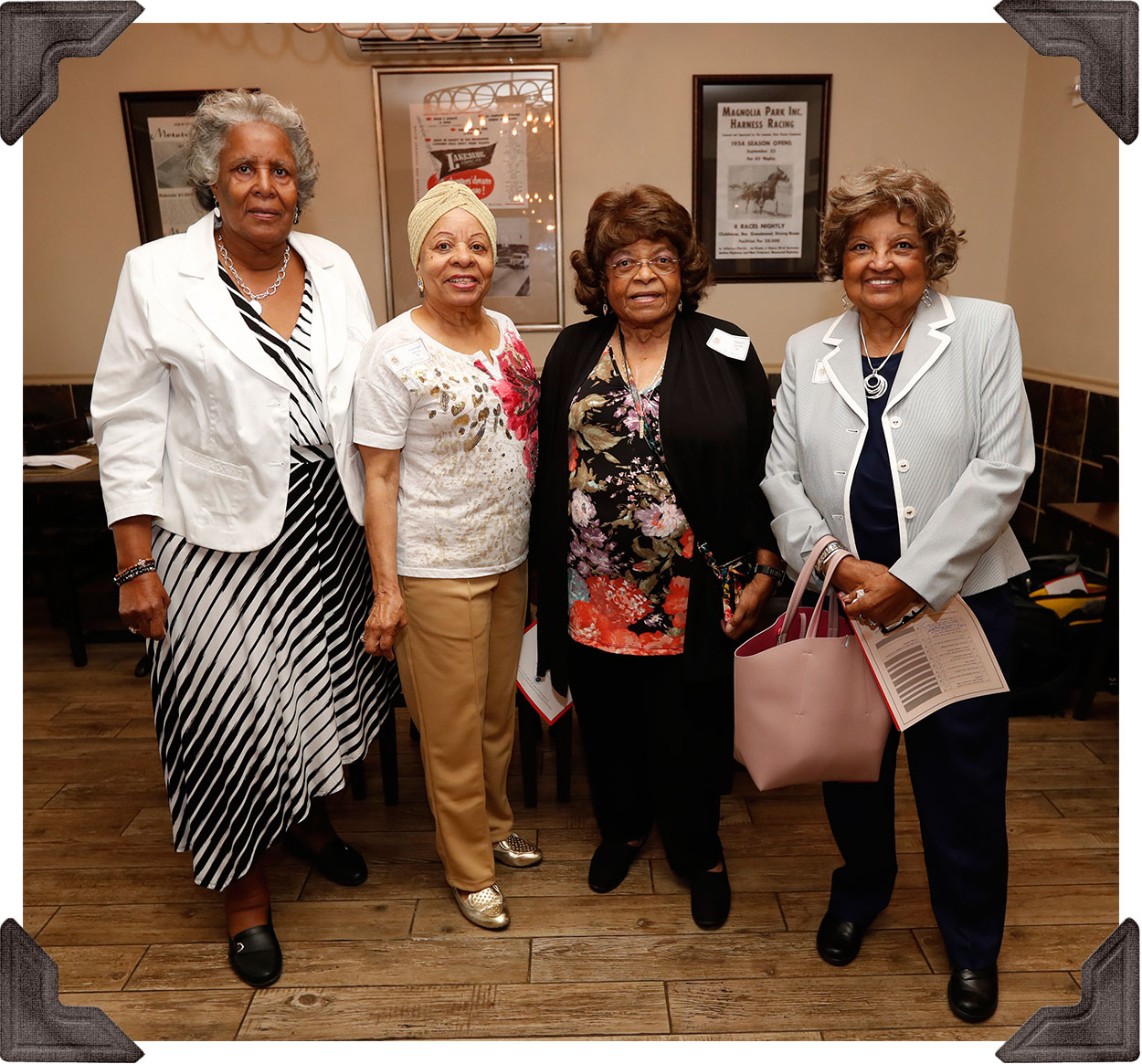 Class of '66 - Velda Roberts, Yolanda Henry, Dorothy Carter and Myralin LaCabe Vignaud