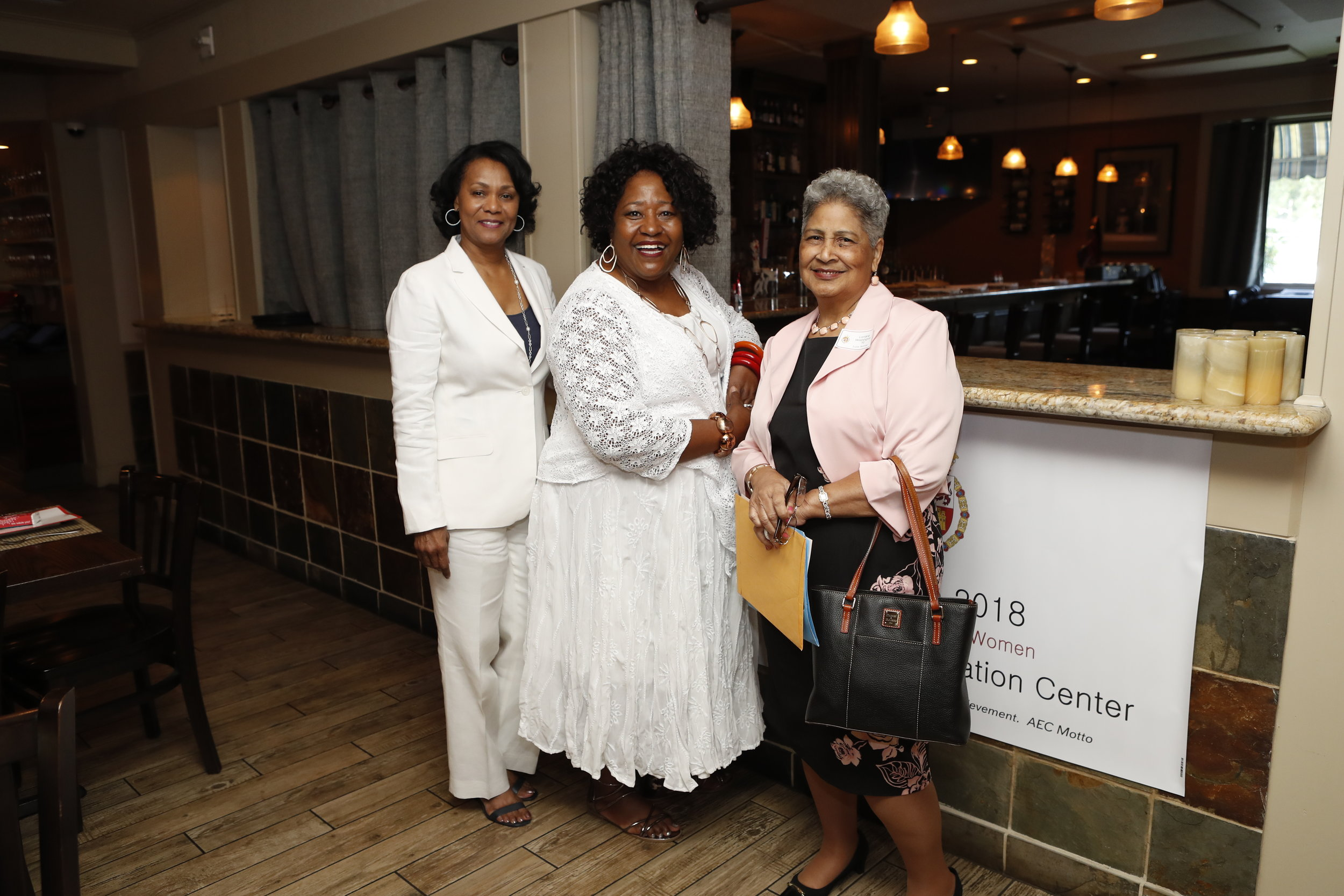 Linda Phoenix Teamer, Connie Nevels-Payton and Lorraine Washington