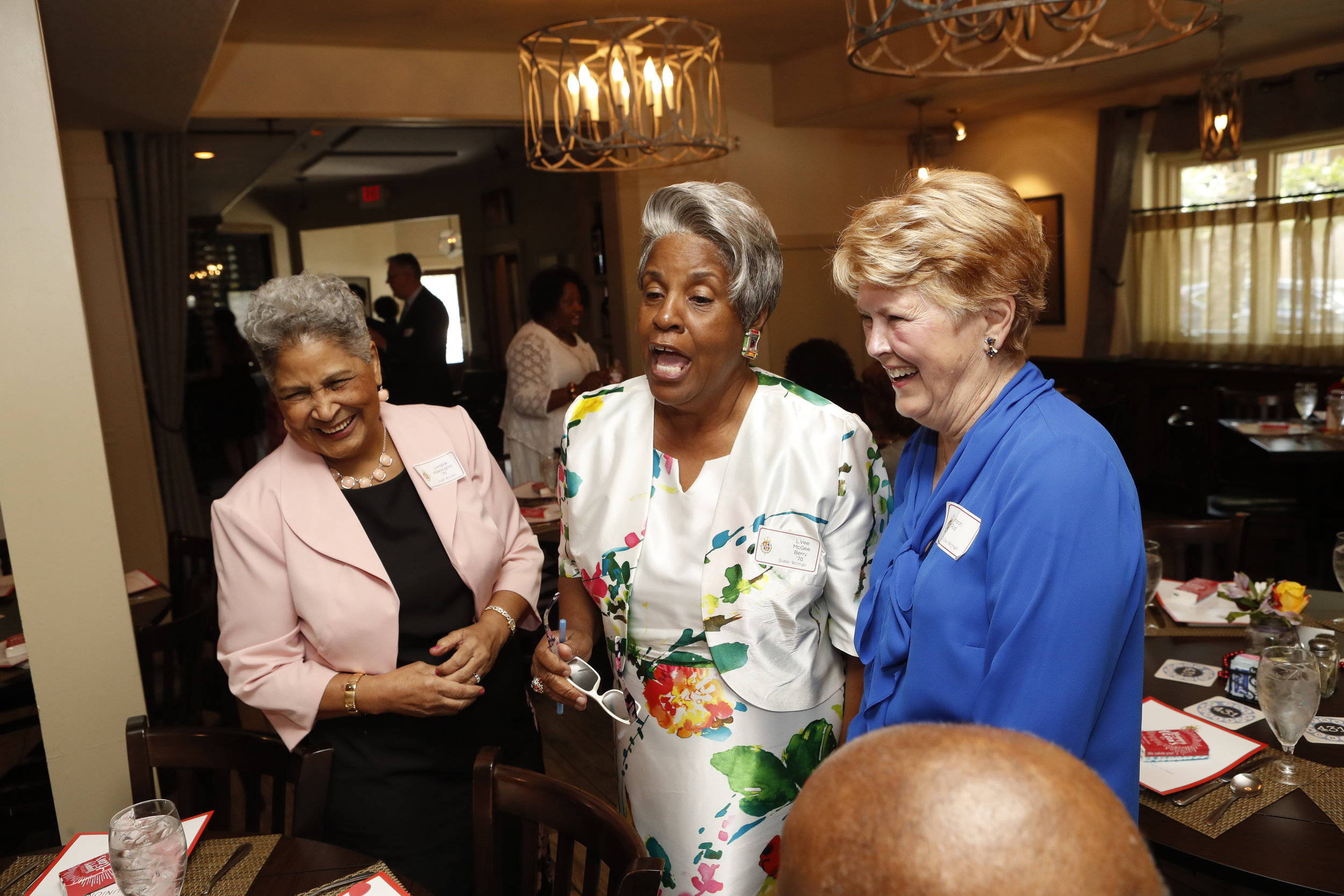 Lorraine Washington, L.Vee Berry and Sharon Rodi