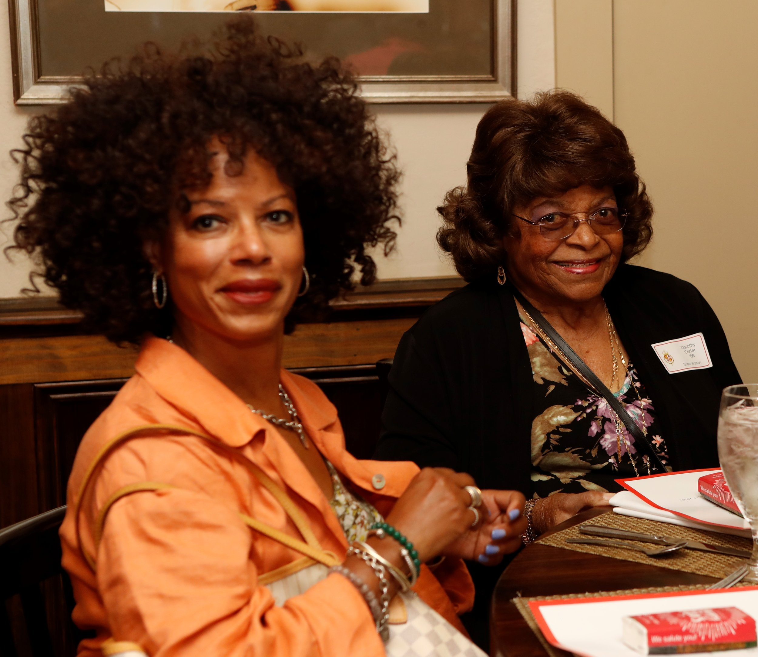 Manya Carter Louis (Guest) and Dorothy Carter