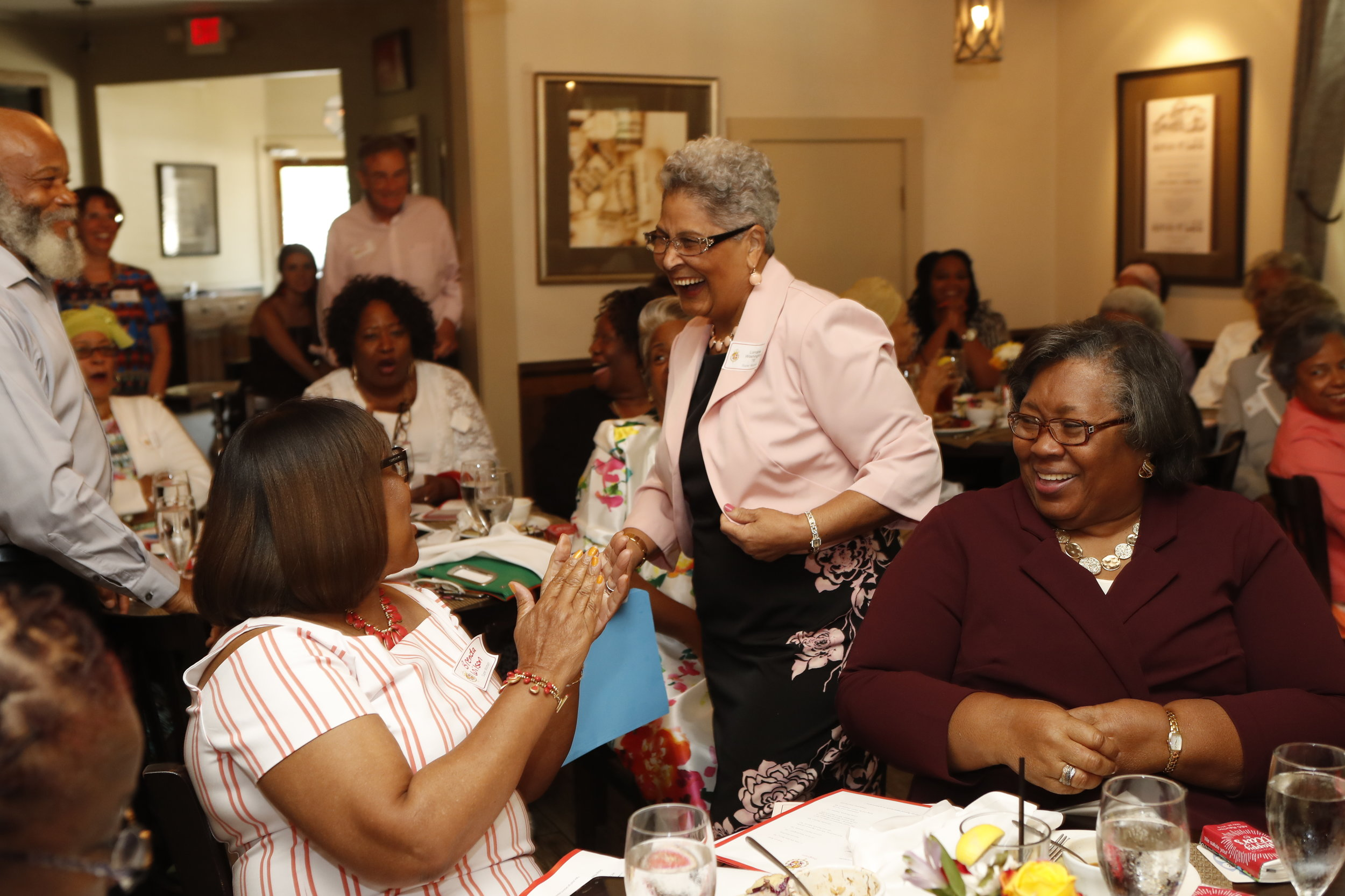 Brenda Wilson, Lorraine Washington (Center)  and Dora Weathersby