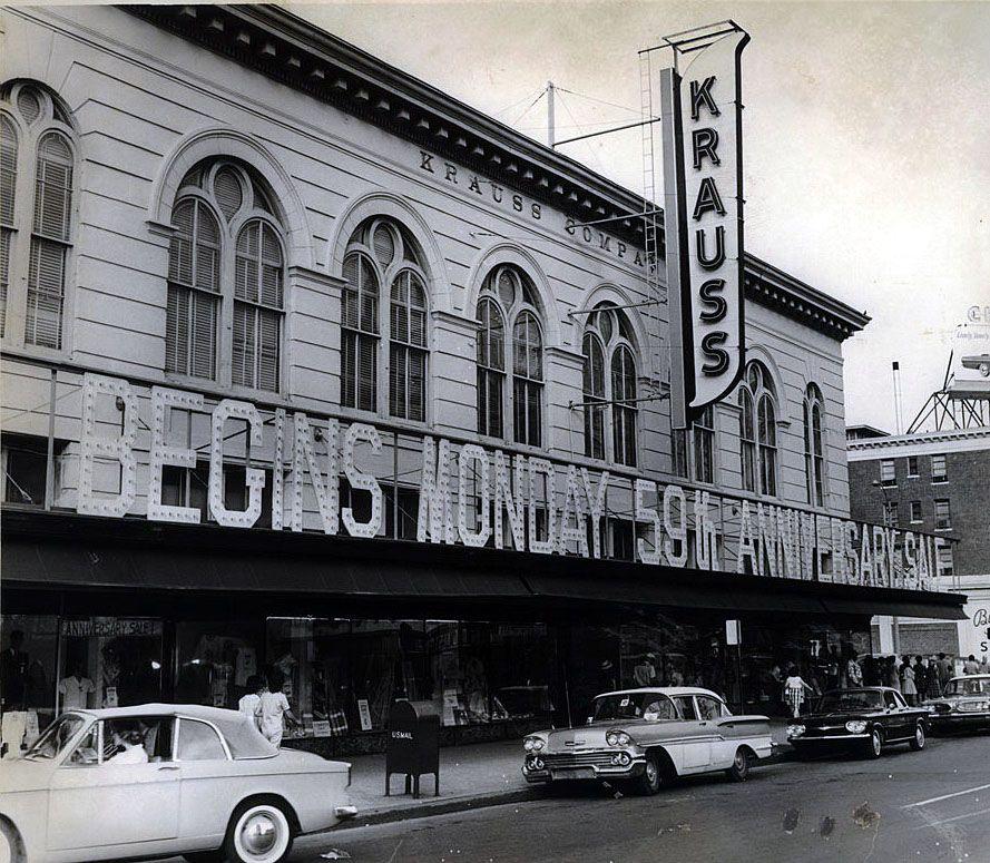 Krauss Department Store, 1962