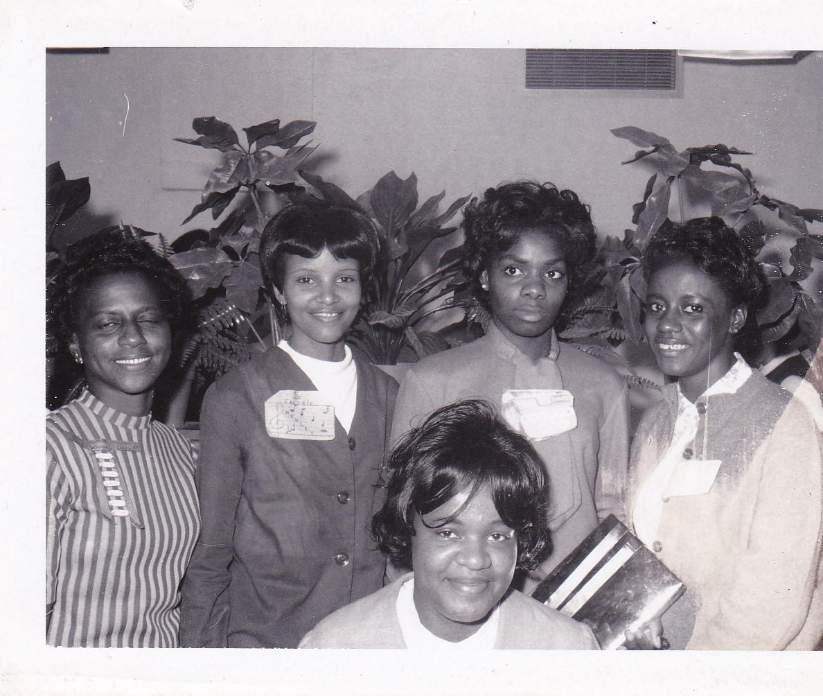'67 Cleo Grant, Freddie Medley, Eunice Ben, Edna Steptore, Dian Morris