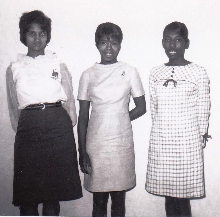 '68 Joy Mitchell, Elaine Spencer, Gloriadean Mims