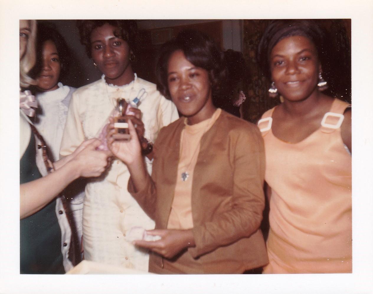 '68-69  Shirley Mitchell, Geneva Hall and Classmates