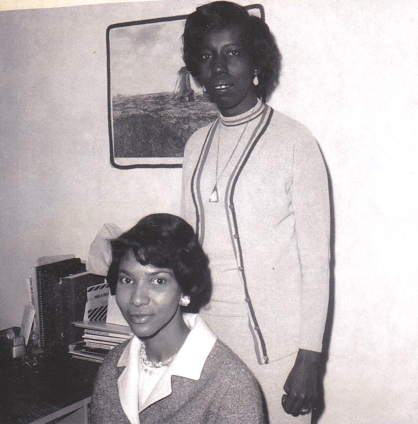 '69 Dorothy Payton and Marian Howard