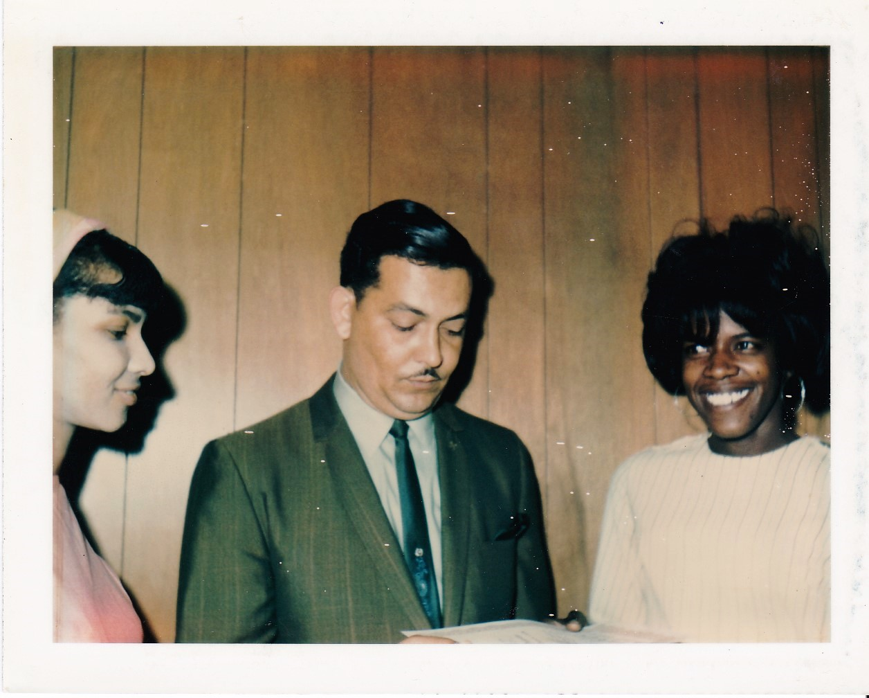 '69 Dorothy Payton, Sidney Cates and Carolyn Washington