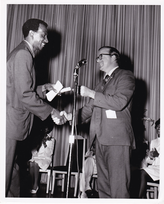 '69 Timothy Gibbons (Right) at Graduation