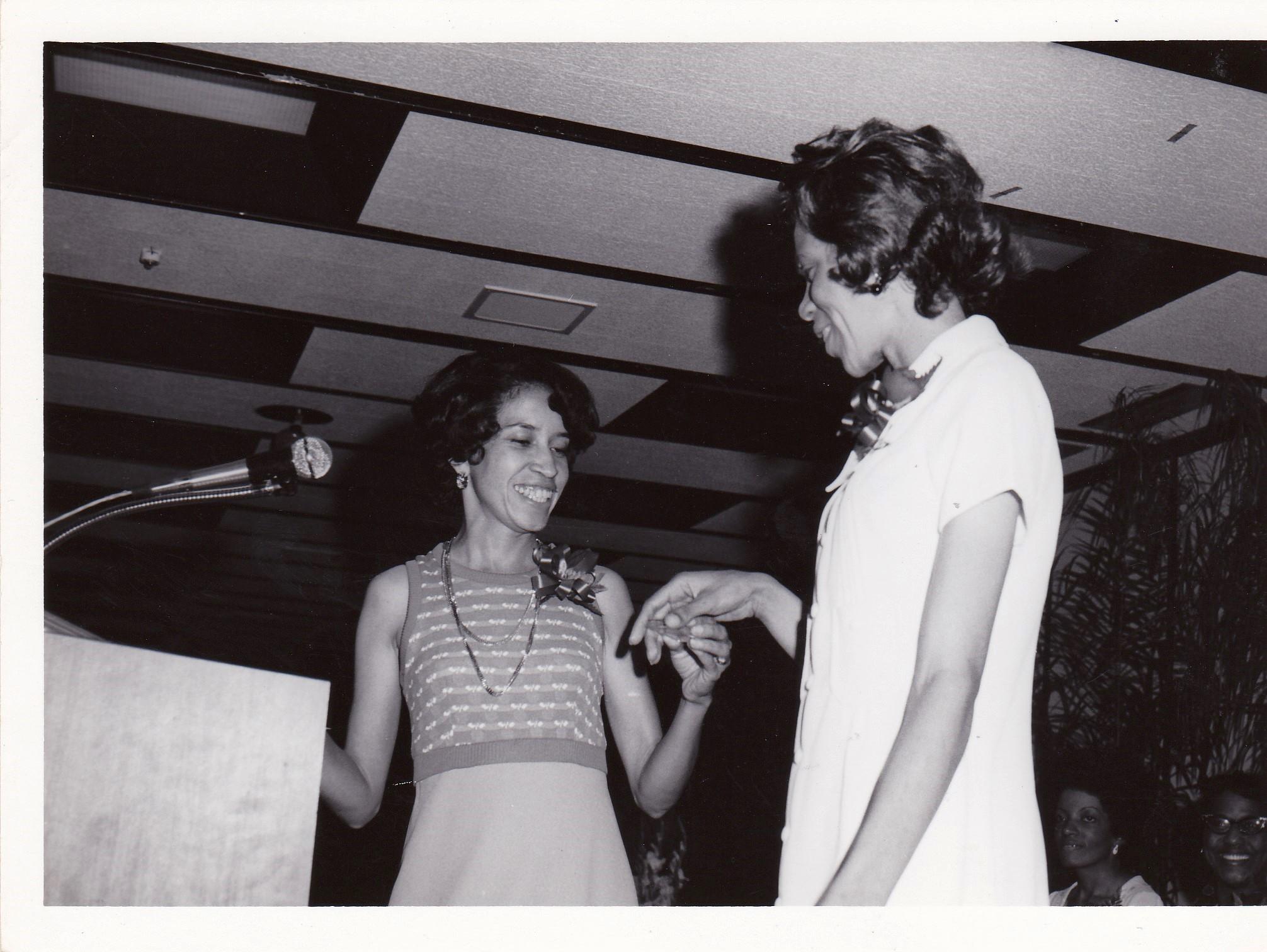 '72 Thyra Johnson '66 and Lethia Haynes