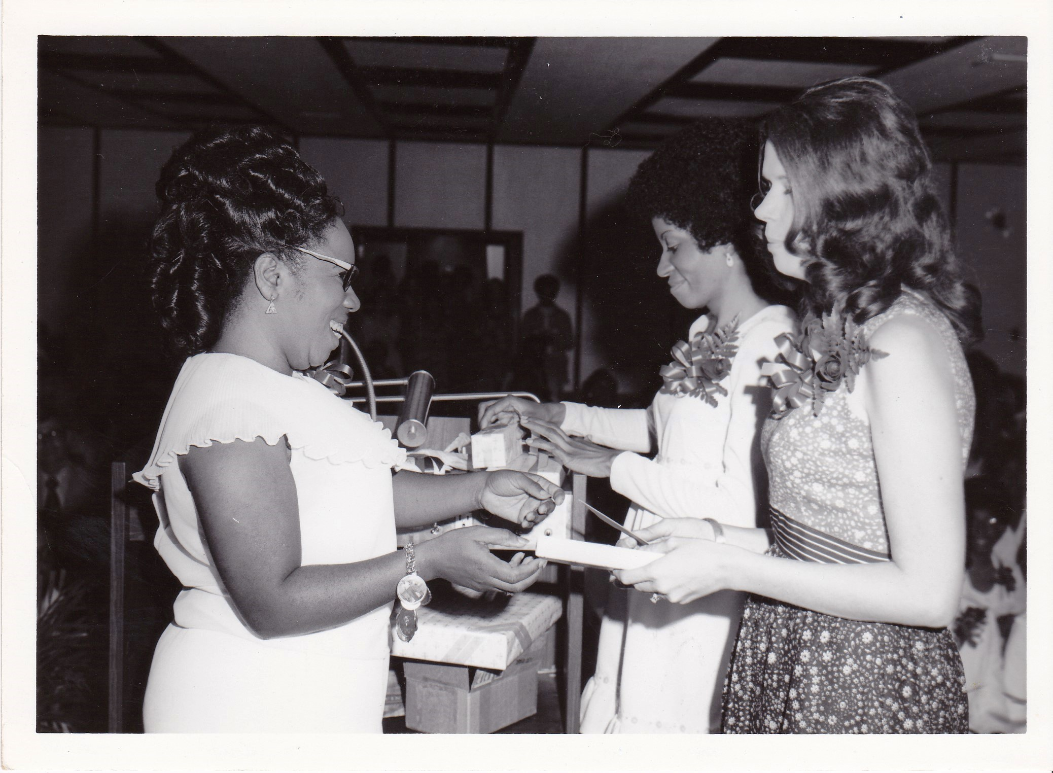 '72 Lucille Le'Obia, Cora Watkins and Helen Berot
