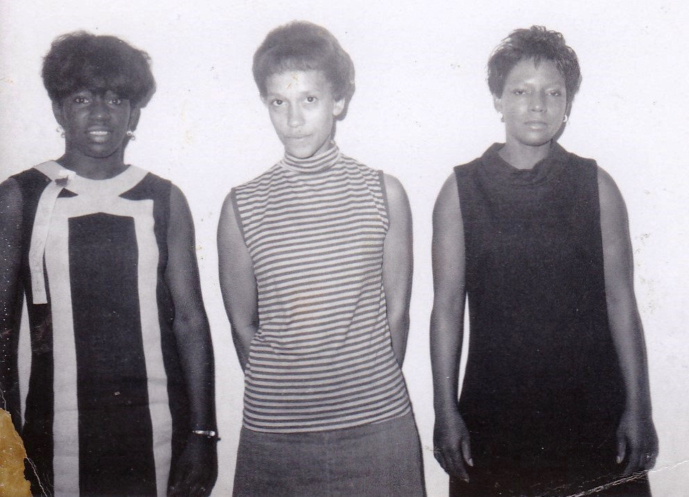 #1: '68 Leatrice Mather & two other students