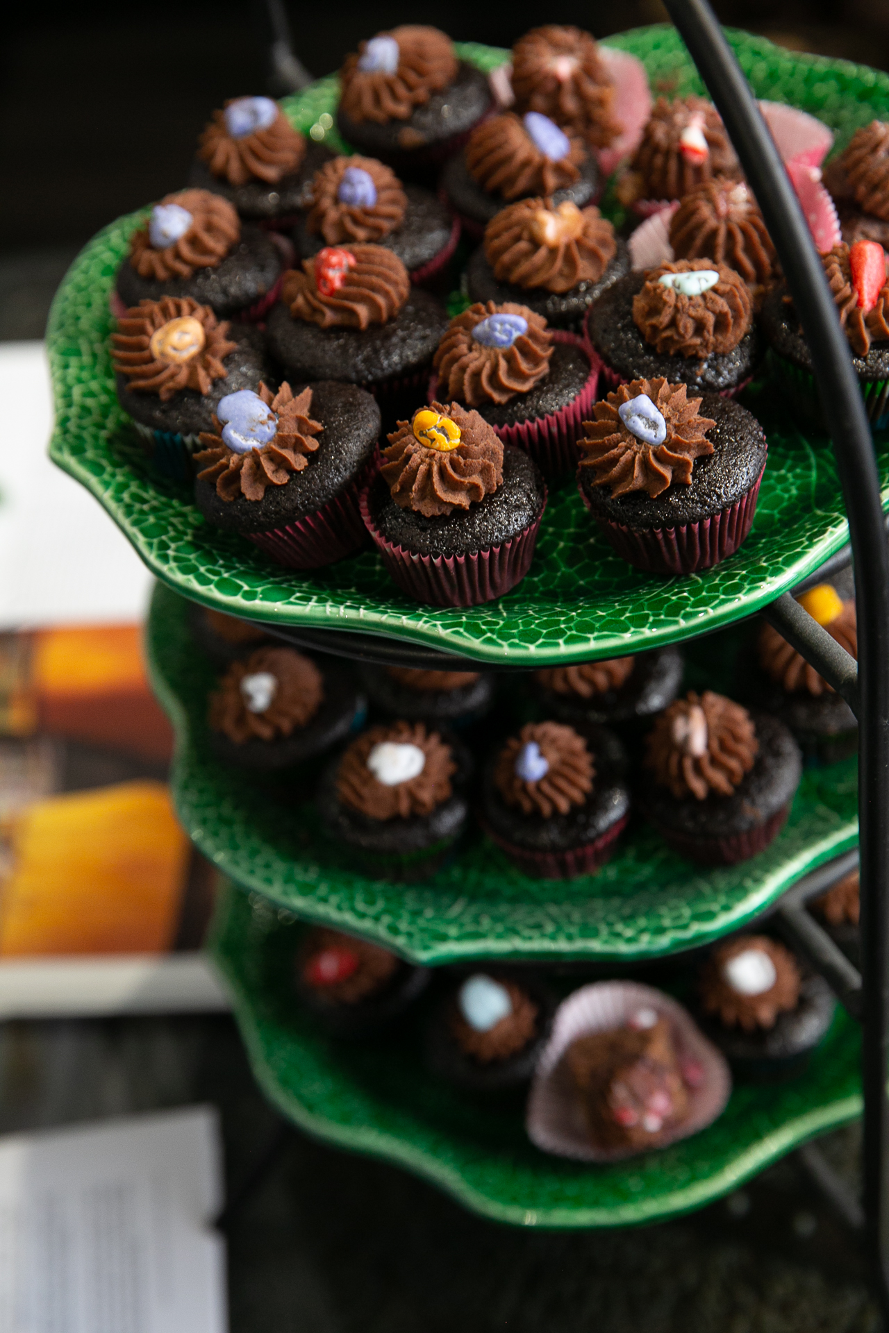 Chocolate Mini Cupcakes by Kyra Effren